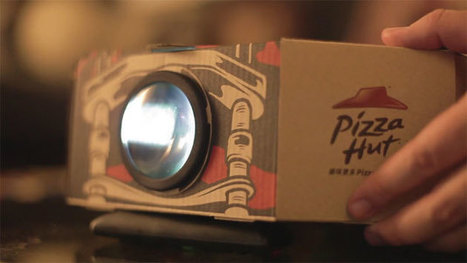 This pizza box doubles as a movie projector | Video | 21st Century Innovative Technologies and Developments as also discoveries, curiosity ( insolite)... | Scoop.it