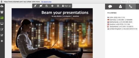 Cliqmeet. La vidéoconférence facile | Time to Learn | Scoop.it