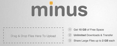 Minus, ce concurrent à Dropbox qui monte ! | Time to Learn | Scoop.it