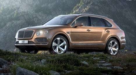 Are Bentley on to a winner with the new Bentayga SUV? | Scoops! | Scoop.it