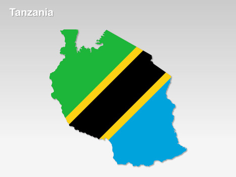 Tanzania PowerPoint Map | Mining and Exploitation. | Scoop.it