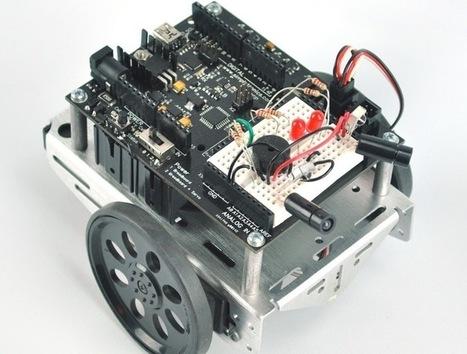 Arduino Open Source Robot Educational Development Board (video) - Geeky Gadgets | Raspberry pi | Scoop.it