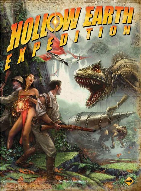 [jeux de rôle] Découvrez 'Hollow Earth Expedition' | Jeux de Rôle | Scoop.it