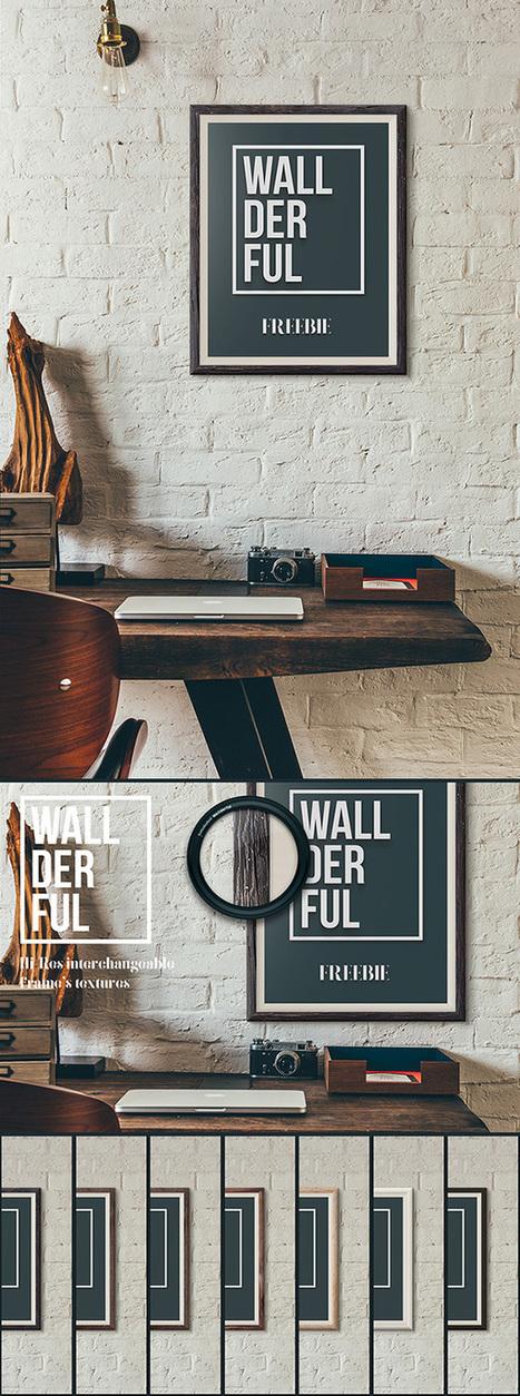 21 Awesome Free Poster & Flyer Mock-ups – September 2015 Edition | Web Design | Scoop.it