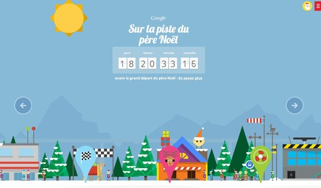 Google Santa Tracker | Veille - Sites Internet | Scoop.it