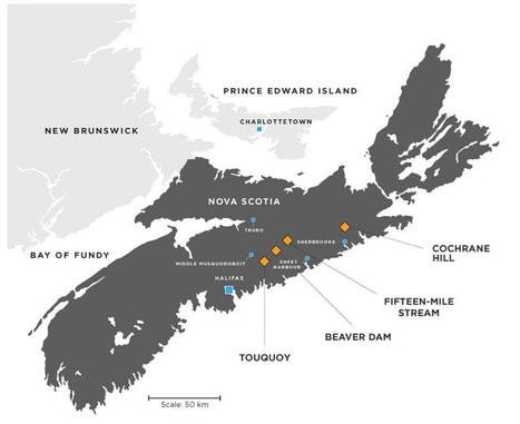 Gold mining back to Nova Scotia with imminent Moose River mine construction : Mining Media Group | Nova Scotia Hunting | Scoop.it