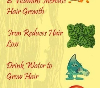 10-Natural-Ways-to-Grow-Hair | Hair Growth | Scoop.it