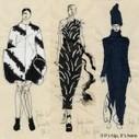 Discover Jenifer Corker's Paris Fashion Week embroidery artworks for ... - HGIssue | Felt | Scoop.it