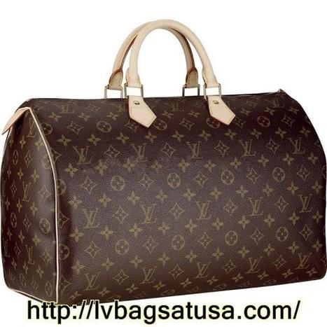 Louis Vuitton Speedy 40 Monogram Canvas M41522 Handbags   Louis Vuitton Factory Outlet Online_lvbagsatusa.com   Scoop.it