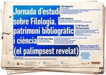 El palimpsest revelat: Jornada d'estudi del patrimoni bibliogràfic   Literatura Española de los Siglos de Oro   Scoop.it