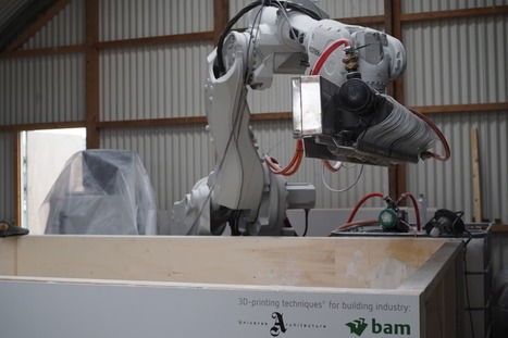 The 3D Builder - BAM and Universe Architecture Launch Revolutionary Construction 3D Printer | 3D_Materials journal | Scoop.it