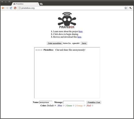 Tutoriel : installer une PirateBox en images | Time to Learn | Scoop.it