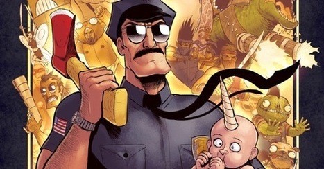 Fox Announces 'Axe Cop' Animated Series for 2013 - ComicsAlliance | Comic Books | Scoop.it