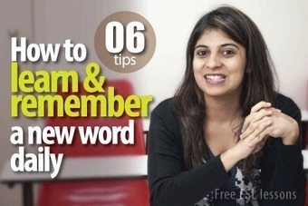 Useful tips and tricks to learn new English vocabulary | Learnex | English Language Teaching | Scoop.it