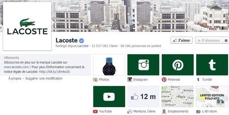 Réseaux sociaux : Lacoste, pionnier du f-commerce | Medias - actualites | Scoop.it
