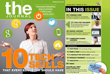 THE Journal : January 2014, Page 1 | ICT integration in Education | Scoop.it