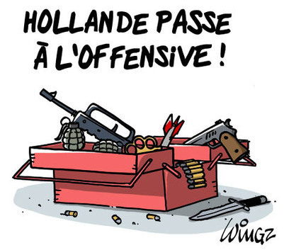 Hollande passe à l'offensive | Baie d'humour | Scoop.it