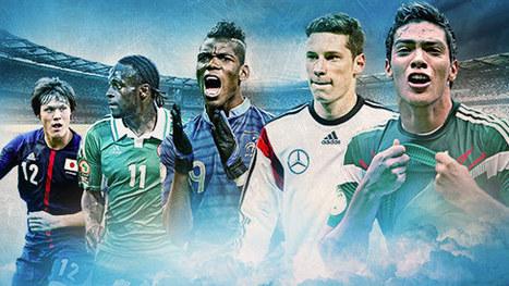 Diez jugadores que prometen para Brasil 2014 | Deportes | Scoop.it