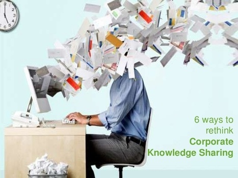 6 ways to rethink corporate knowledge sharing |... | Digital curation | Scoop.it
