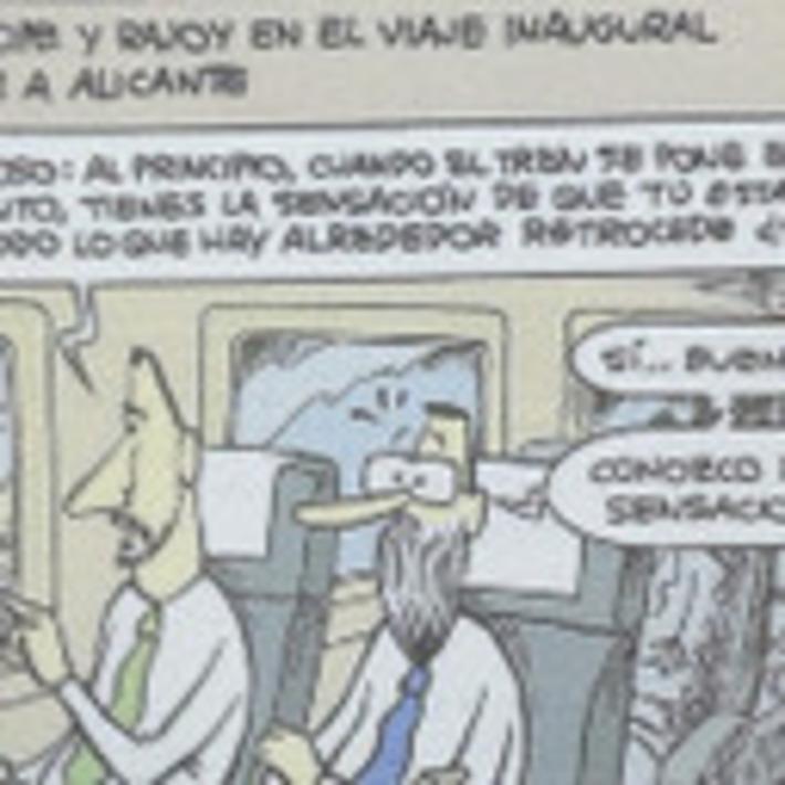 Las sensaciones del príncipe Felipe y Mariano Rajoy en el AVE (por @HUMORJMNIETO ) - via @elbaronrojo | Partido Popular, una visión crítica | Scoop.it