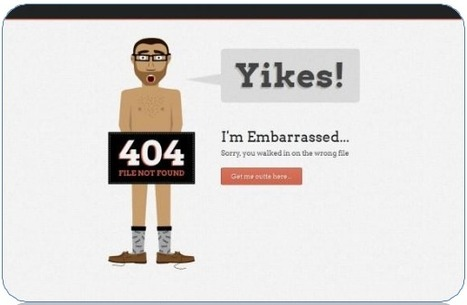 These 404 pages will inspire your creativity | Creative Thinking | Scoop.it