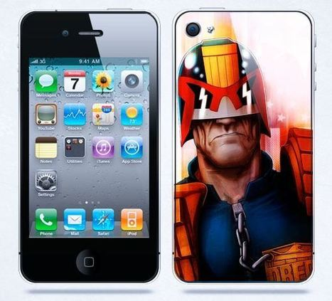Judge Dredd iPhone 4 case | Apple iPhone and iPad news | Scoop.it