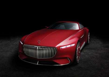 Il concept elettrico di lusso Mercedes Maybach Vision 6 | green car | Scoop.it