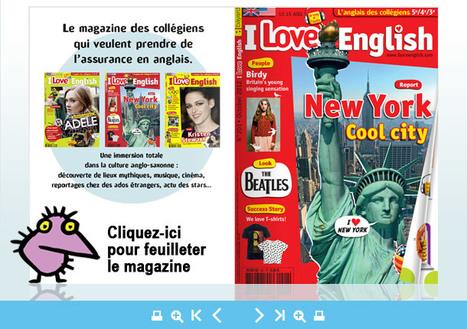 I Love English - I Love English | Revues du CDI | Scoop.it