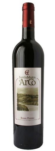 "Ceci Enrico, Rosso Piceno doc ""Santa Maria d'Arco"" | Made in Italy Flavors - Luxury Wines, Truffle, Caviar | Scoop.it"