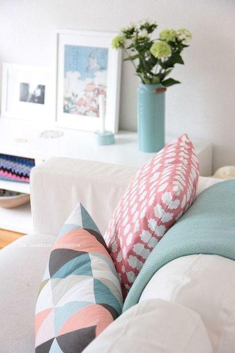 5 couleurs pour donner du peps à son intérieur – Cocon de décoration: le blog | Décoration | Scoop.it