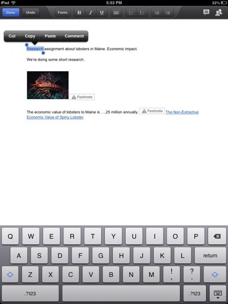 Finally! - Google Drive for iPad Supports Comments | SFSD iPad Scoop | Scoop.it