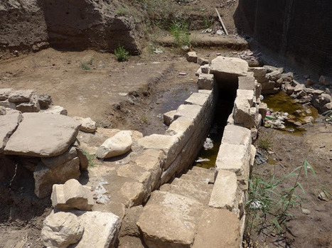 Nilometer discovered in ancient city of Thmuis in Egypt's Delta region | Histoire et Archéologie | Scoop.it