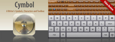 Cymbol a Writers Symbols, Characters and Toolbox App for iPad | Best iPhone Apps and iPad Apps | Scoop.it