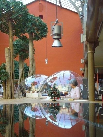 Les 15 bureaux les plus cool du monde!   Le blog de voyage - eDreams   La formation et l'emploi   Scoop.it