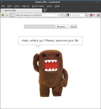 stackp — Droopy: easy file receiving | Techy Stuff | Scoop.it