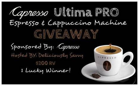 Espresso & Cappuccino Machine Giveaway - Work Money Fun | Giveaway, Contest, Sweepstakes, Coupons and Deals | Scoop.it
