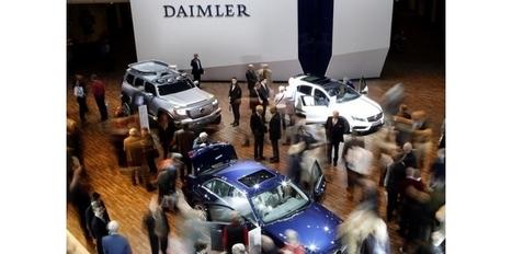Les résultats de Daimler dopés par la sortie d'EADS - Challenges.fr | Actualité financière et boursière | Scoop.it
