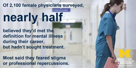 Fear of stigma or sanction keeps many doctors from revealing mental health issues, study finds | Institute for Healthcare Policy and Innovation | Surgeon Nation | Scoop.it
