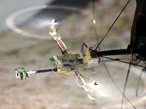 A Drone With Bug Vision | Biomimicry | Scoop.it