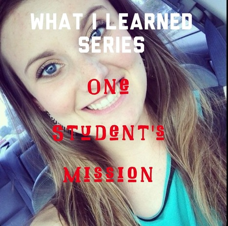 What I Learned: One Student's Mission | Social Networking Case Studies | Scoop.it