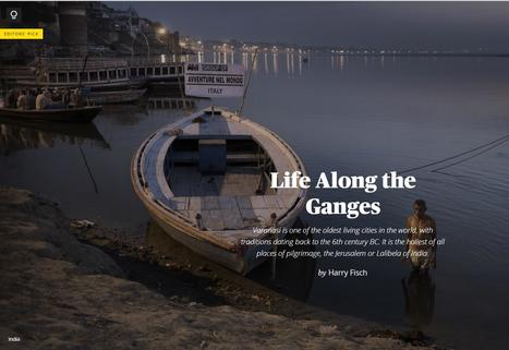 Harry Fisch featured in Maptia: Life Along the Ganges | Nomad Photo Expeditions | Scoop.it