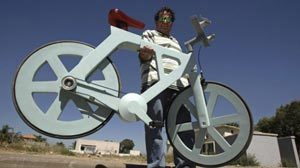 A Bike Made Almost Entirely Out Of Cardboard - For Just $20, Could It Change The World? | Business change | Scoop.it
