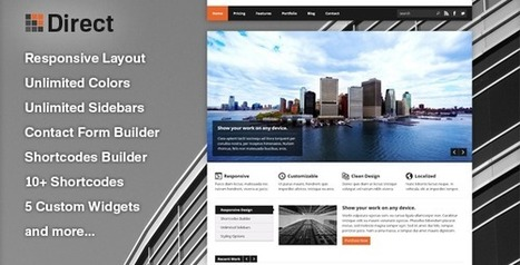 Share free theme wordpress - Direct - Website công ty | Share code web | Scoop.it