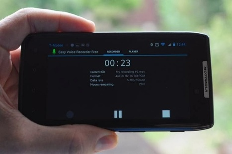 Top Android free voice recorder app for download, Easily record voice with these voice recorders | Android | Scoop.it