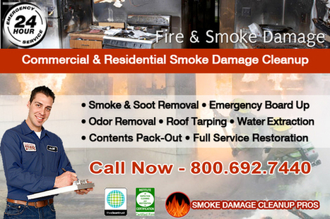 Smoke Damage Cleanup - Soot Removal - Fire Restoration Company | Restoration | Scoop.it