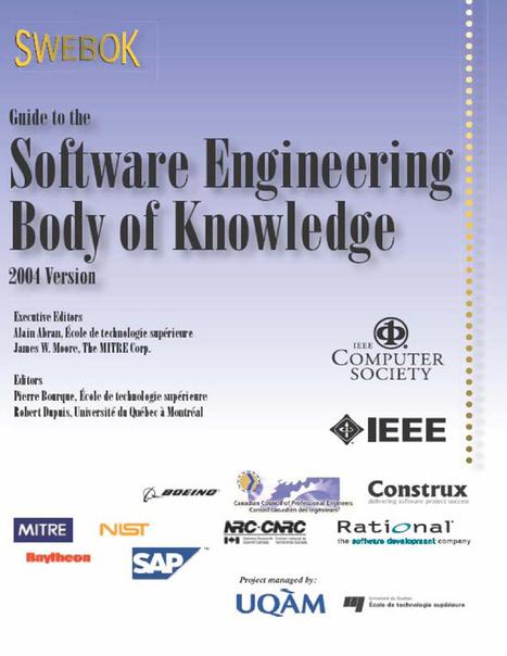 SWEBOK Guide - HTML Format | Ingeniería de Software | Scoop.it