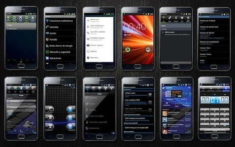 LexMod CrystalROM v4 en el Galaxy S II | Android | Android phone | Scoop.it