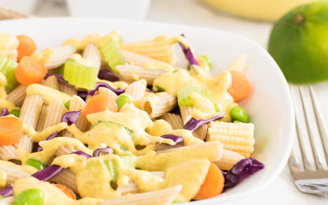 Thai Curry Pasta Salad [Vegan, Gluten-Free] | Vegan Food | Scoop.it