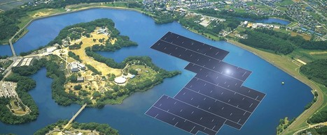 Kyocera starts construction on the 'world's largest floating solar farm' in Japan | Green Innovation | Scoop.it