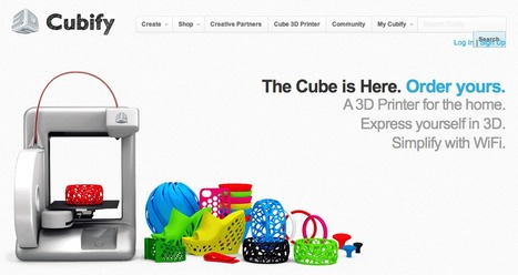 [Tech] Go 3D with Cubify | On 3D-printing and the home factory | Scoop.it